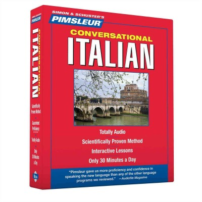 Pimsleur Conversational Italian - Audio Book 8 CD -Discount - Learn to Speak Italian