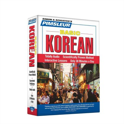 Pimsleur Basic Korean - Audio Book 5 CD -Discount - Learn to