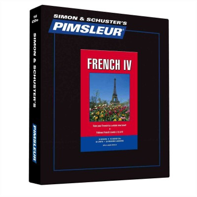 Pimsleur Comprehensive French Level 4 - Discount - Audio 16 CD