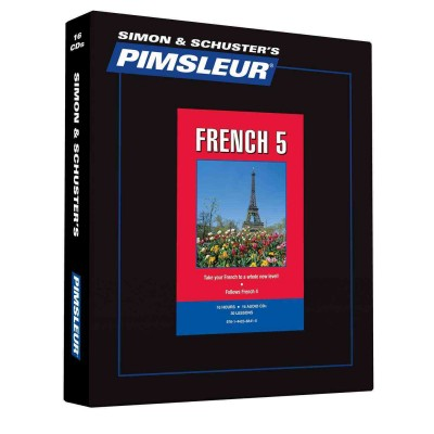 Pimsleur Comprehensive French Level 5 - Discount - Audio 16 CD
