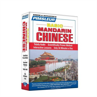 Pimsleur Basic Mandarin Chinese - Audio Book 5 CD -Discount - Learn to speak Mandarin Chinese