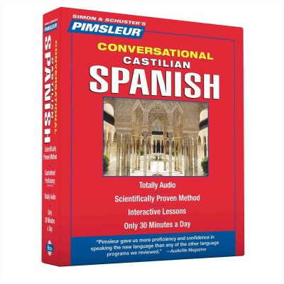 Pimsleur Conversational Castilian Spanish - Audio Book 8 CD -Discount-Learn to speak Spanish