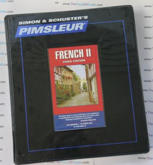 Pimsleur Comprehensive French Level 2 - Discount - Audio 16 CD