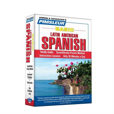 Pimsleur Basic Latin-American Spanish - Audio Book 5 CD -Discount-Learn to speak Spanish