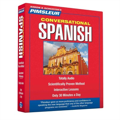 Pimsleur Conversational Latin-American Spanish - Audio Book 8 CD -Discount-Learn to speak Spanish