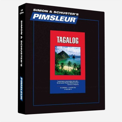 Pimsleur Comprehensive Tagalog Level 1 - Discount - Audio 16 CD