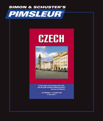 Pimsleur Comprehensive Czech Level 1 - Discount - Audio 16 CD