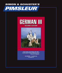 Pimsleur Comprehensive German Level 3 - Discount - Audio 16 CD