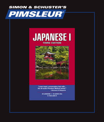Pimsleur Comprehensive Japanese Level 1 - Discount - Audio 16 CD