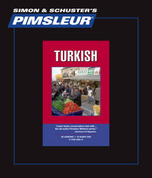 Pimsleur Comprehensive Turkish Level 1 - Discount - Audio 16 CD