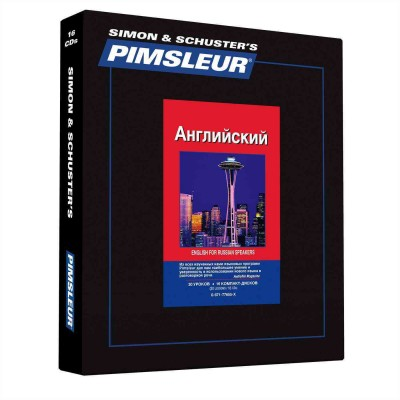 Pimsleur English for Russian Speakers - Discount - Audio 16 CD