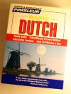 Pimsleur Basic Dutch - Audio Book 5 CD -Discount-Learn to Speak Dutch