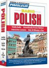 Pimsleur Basic Polish - Audio Book 5 CD -Discount - Learn to speak Polish